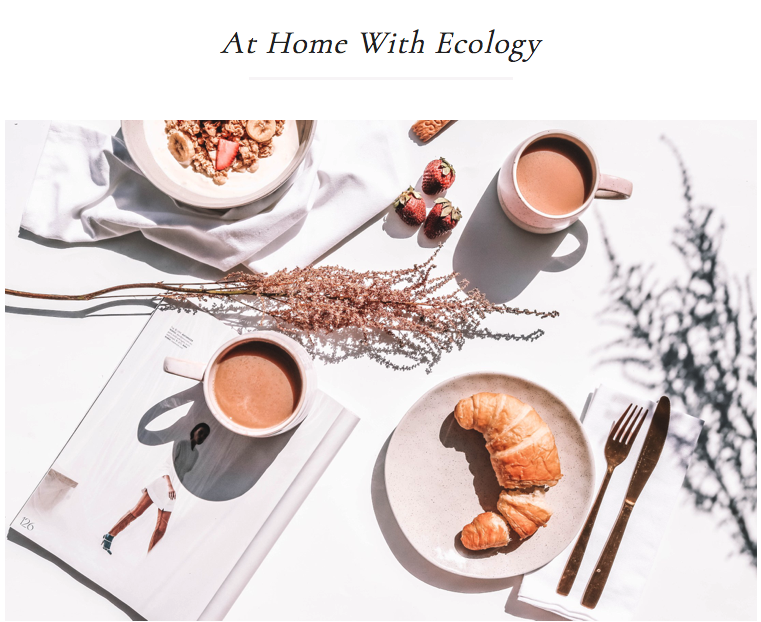 At Home With Ecology - Codie Zofia