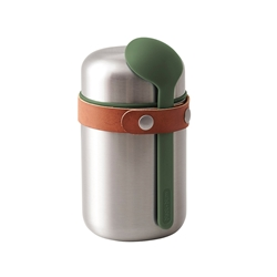 Black + Blum Food Flask Olive 400ml