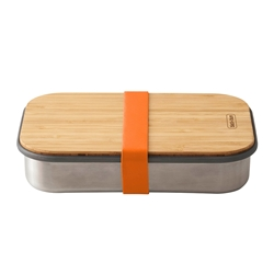 Black + Blum Stainless Steel Sandwich Box Orange 900ml