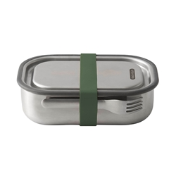 Black + Blum Stainless Steel Lunch Box Olive 1L