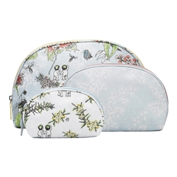 May Gibbs Set of 3 Cosmetic Bags Bushlands