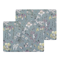 May Gibbs Set of 2 Large Placemats Flower Babies