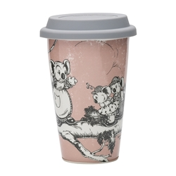 Blinky Bill Travel Mug Coral 240ml