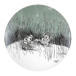 Blinky Bill Side Plate Green