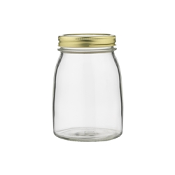 Ecology Source Glass Preserve Jar With Lid 1L