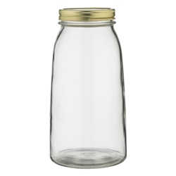 Ecology Source Glass Preserve Jar With Lid 2L