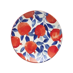 Punch Side Plate Pomegranate 20cm