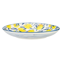 Punch Large Shallow Bowl Lemon