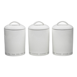 Abode 3 Piece Canister Set