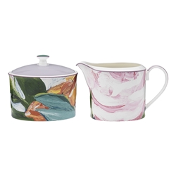 Ecology Bloom Sugar and Creamer Set