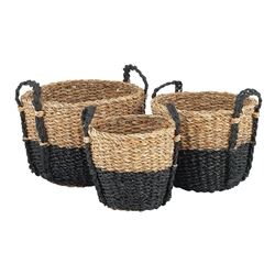 Duo Nesting Baskets Set of 3