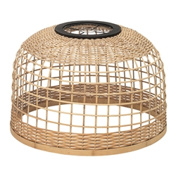 Hatch Large Bamboo Shade 52cm x 35cm