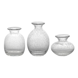 Halo Vignette Icicle Vases Set of 3