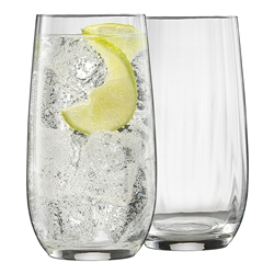 Twill Set of 6 Hi Ball Glasses 490ml