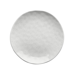 Speckle Milk Side Plate 20cm