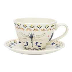 Love Bug Cup & Saucer 280ml
