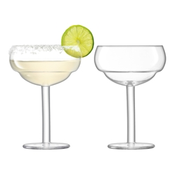 LSA Mixologist Cocktail Coupe Glasses Set of 2 320ml