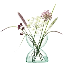 LSA Canopy Vase H24cm in Clear