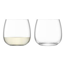 LSA Borough Stemless Set of 4 370ml