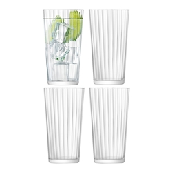 LSA Gio Line Juice Glass Set of 4 320ml