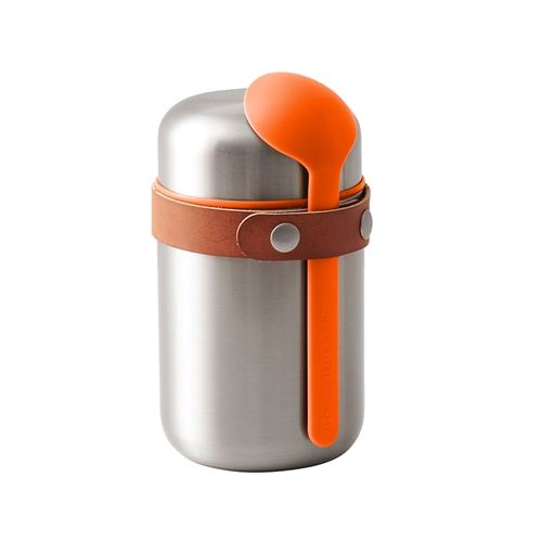 Black + Blum Food Flask Orange 400ml