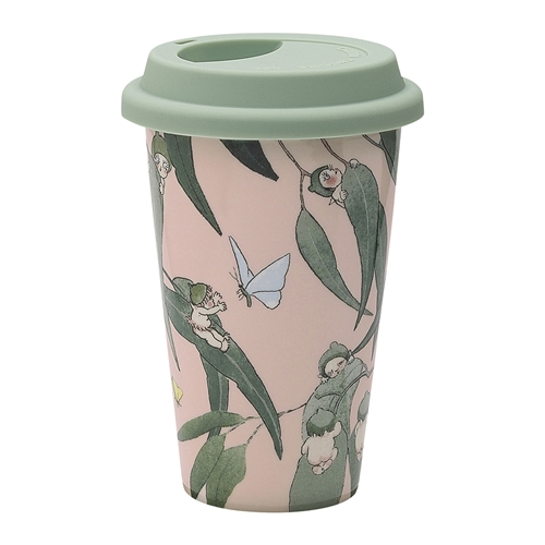May Gibbs Travel Mug Gumnut Babies 240ml