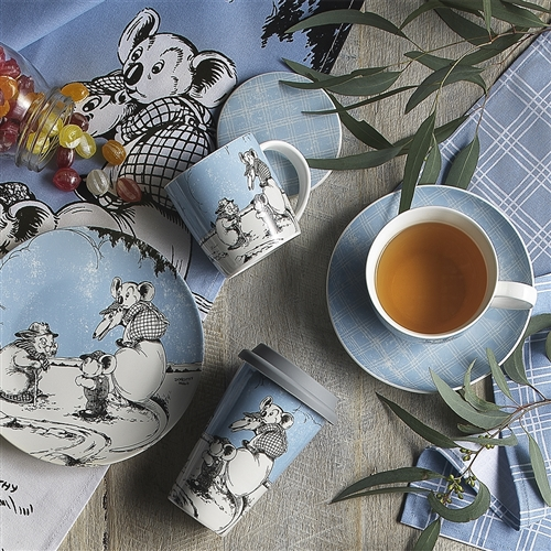 Blinky Bill Tea Towels Blue Set of 2