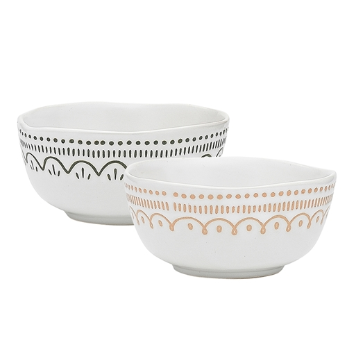 Tidings Set of 2 Dip Bowls