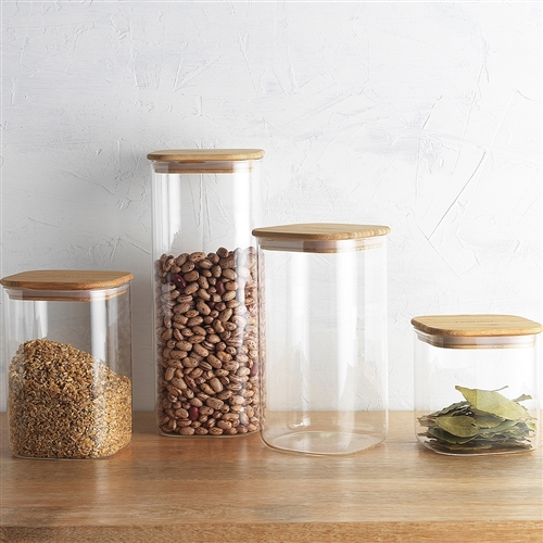 Pantry Square Canister 19cm