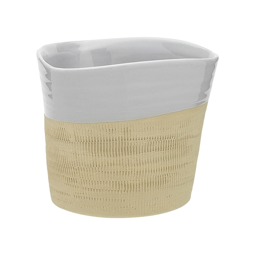 Cane Medium Planter Oyster 15cm