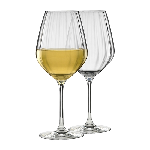 Twill Set of 6 White Wine Glasses 430ml