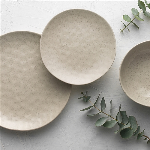 Speckle Side Plate Oatmeal 21cm