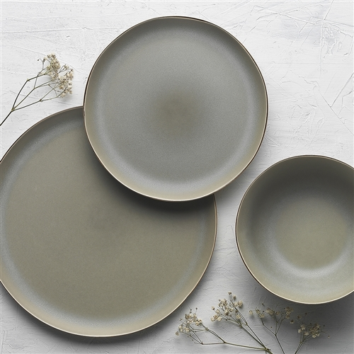 Malta 12 Piece Dinner Set Sage